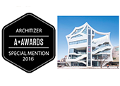 Architizer A+Awards 수상